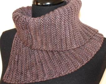PATTERN - Cowl Neckwarmer Easy Knitting Pattern ABSOLUTE COWL