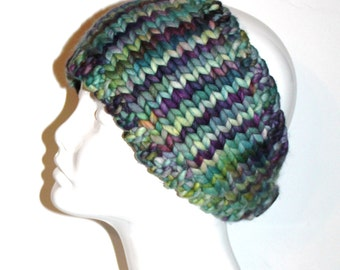 KNITTING PATTERN Headband with Crochet Or by AbsoluteKnits