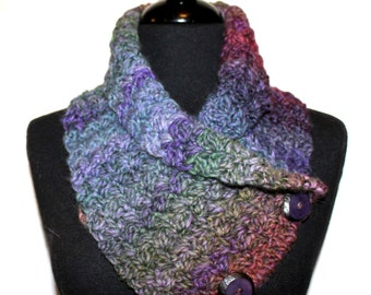CROCHET PATTERN - Neckwrap Cowl Crochet Pattern Easy