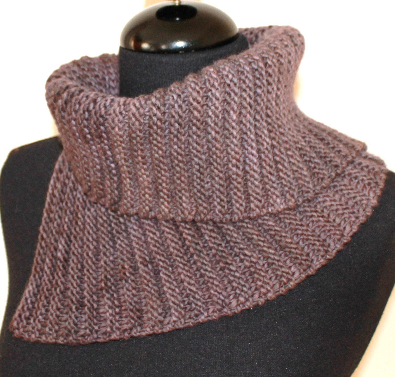 Knitting Easy Pattern Scarf Neck Warmer : PATTERN Cowl Neckwarmer Easy Knitting Pattern ABSOLUTE COWL