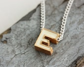 Vintage E Necklace