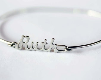 Vintage Name Bracelet - Ruth