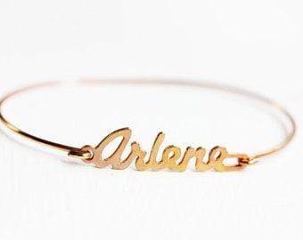 Vintage Name Bracelet - Arlene