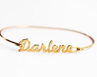 Vintage Name Bracelet - Darlene
