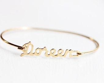 Vintage Name Bracelet - Doreen