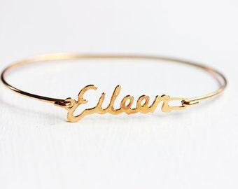 Vintage Name Bracelet - Eileen