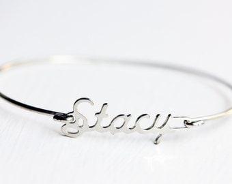Vintage Name Bracelet - Stacy