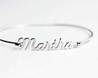 Vintage Name Bracelet - Martha