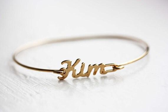 Vintage Name Bracelet - Kim