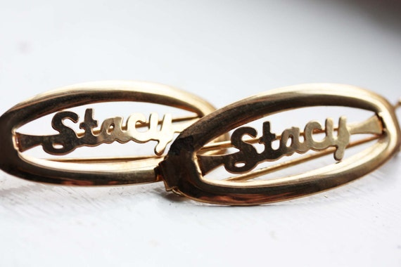 Vintage Hair Clips - Stacy