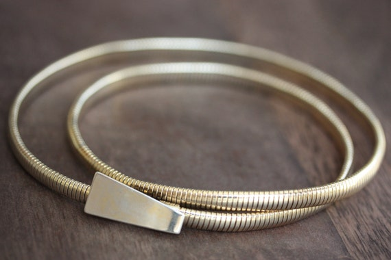 Trapezoid Coil Belt - S