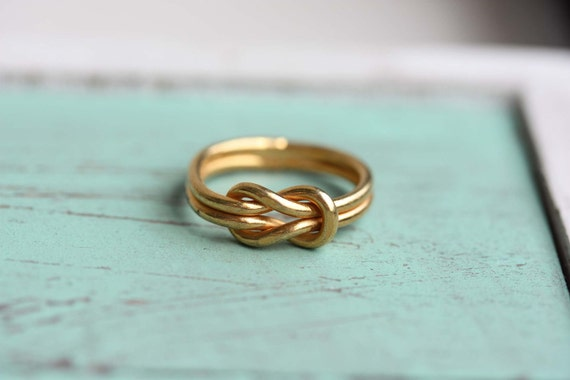 Sailor Knot Ring - Gold - Size 4