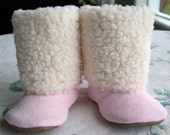 Pink Mugglees Fashion Boots ( 6 to 9 months) FREE USA SHIPPING