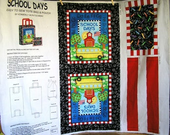 Teachers Color Our World Tote Bag and Pouch Panel - One Panel