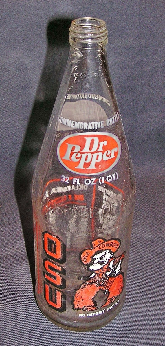 Vintage Commemorative Dr Pepper Bottle For The By