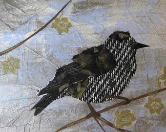 Bird Art Print Starling  Fine Art Giclee Print  8 x 10