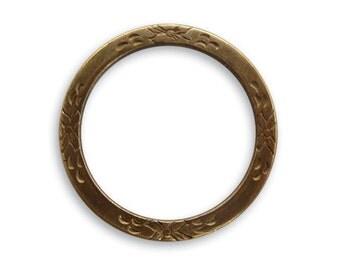 2 pieces 25mm Eternity Garden Ring by Vintaj Item DR20