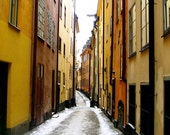 Gamla Stan - 8x8 Stockholm old town photograph