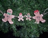 Personalized Gingerbread Garland