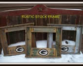 "Green Bay Packer Stock Frame by ""Once Abarn A Time"""