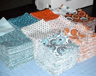 "Precut, Fabric, Squares, Custom, Quilt, Squares, UPick from my Fabric, Bundles, 250, Designer, Flannel, Or, Quilting, Cotton, 5"", Squares"