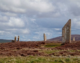 Time Machine Scotland Standing Stones Fine Art photography Outlander Romance Magical Mysterious Dreamy Romantic circle