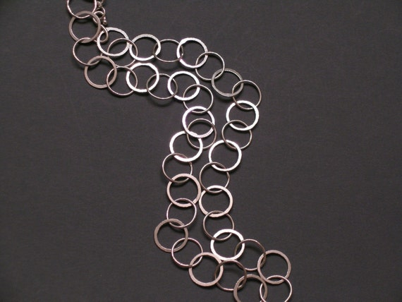 Handcrafted Silver Mary Jane Chain