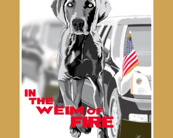 In The Weim Of Fire - 11x14 poster