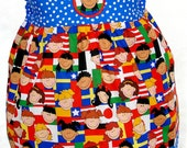 The 'Doing Disney' Epcot/ Small World  Dress