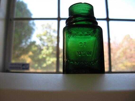 PRESTON OF NEW HAMPSHIRE Antique Bottle