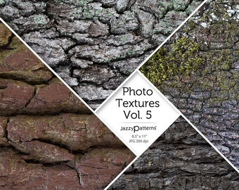 Photo Textures Tree Bark digital background, printable photography backdrop  Vol.5