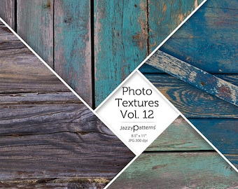 Painted Wood Grain Photo Textures digital background texture photo overlay Vol.12 instant download