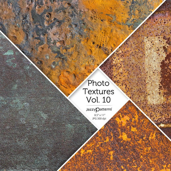 Rust Photo Textures Vol.10 digital background, texture backdrop, photography, digital scrapbooking