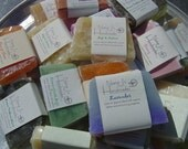 SALE REDUCED-Handmade Glycerin Soap Sampler.U choose your scents-10 bars each 3.5-4 ounces. Made by Nana J's Handmades  plus Free shipping