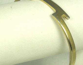 Vintage Avon Gold Washed Metal Bracelet