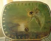 Ouija Board or Pendulum Divination Board Green Fairy