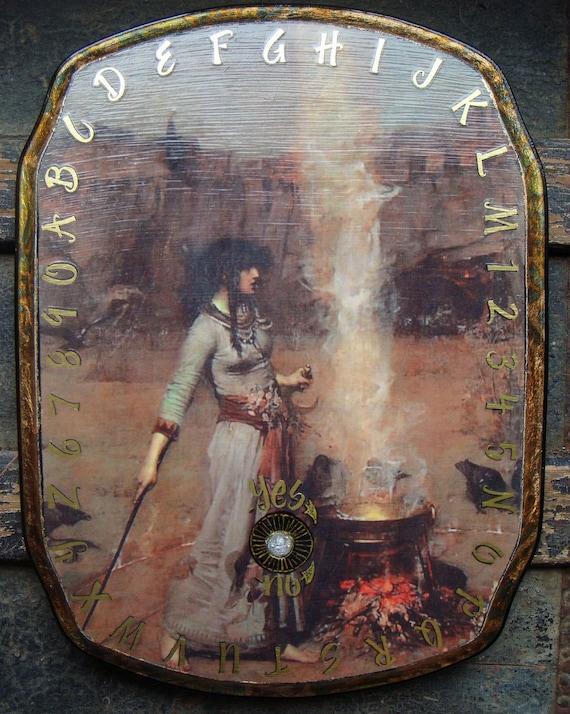 Ouija Board or Pendulum Divination Board Magic Circle