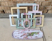 Shes Having A Baby Inspired - PASTELS - Upcycled Vintage Home Decor Collection