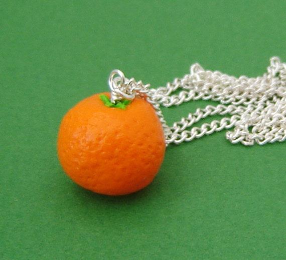 Orange Fruit Necklace