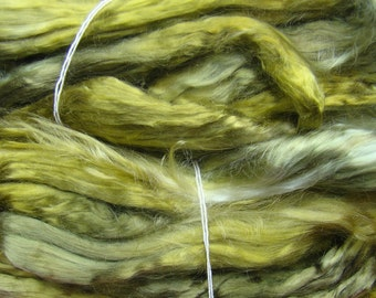 Tencel roving for spinning - Leaf 1 oz.