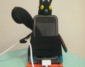 Trustworthy iPhone guard -- Black and Plaid Squirrel