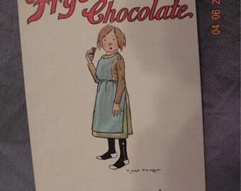 Chas. Pears Fry's Chocolate Postcard