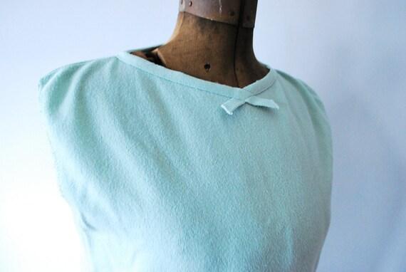 Seafoam Darling Vintage Sleeveless Knit Top