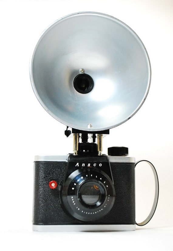 Vintage Ansco Readyflash Camera With Flash