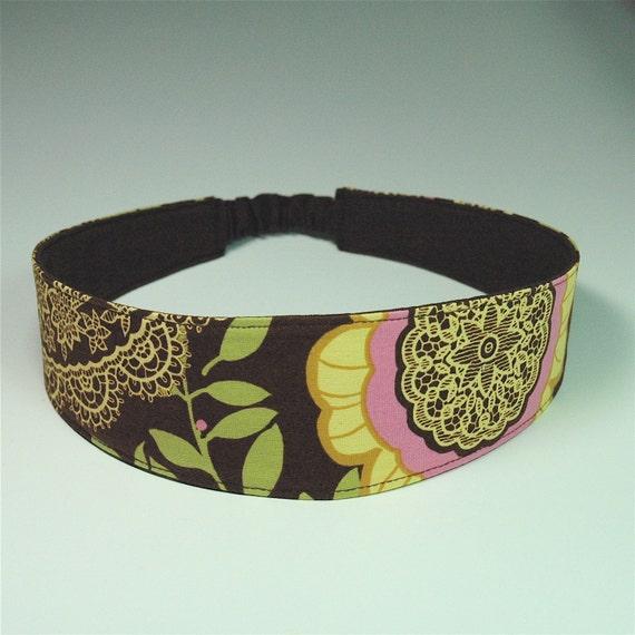 Lotus Lacework reversible headband