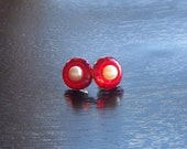 I Love Lucy Red Stud Earrings