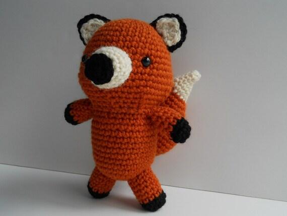 Amigurumi Crochet Fox Plush Toy