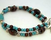 Blue Island bracelet