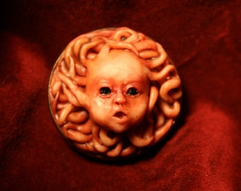Tentacled Infantina Brooch