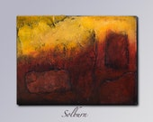 Solburn - (24x18) Original Textured Painting